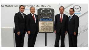 Mazda inicia construcción de su planta en México