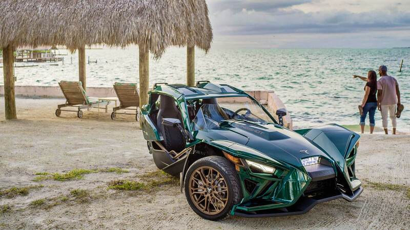 Polaris Slingshot Grand Touring 2020, un elegante, pero agresivo todoterreno