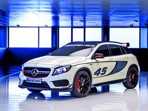 Mercedes-Benz GLA 45 AMG Concept: Clase A producción
