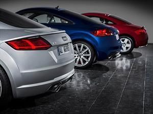 Audi TT y sus tres generaciones