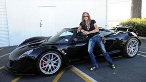 Steven Tyler compra un Hennessey Venom GT Spyder 2013 en 1.1 millones de dólares