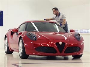 Alfa Romeo nos muestra cómo se fabrica al 4C