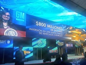 General Motors de México cumple 80 años en México y anuncia inversiones por 800 millones USD