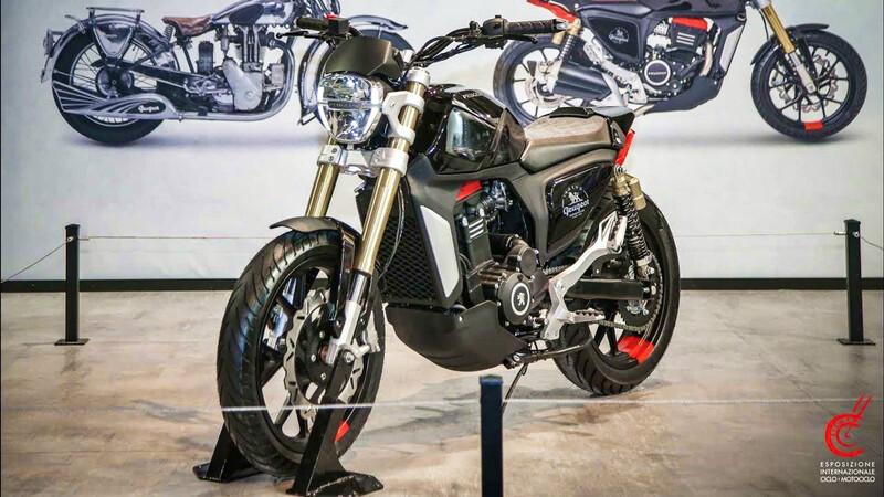 Peugeot lanzará su primera motocicleta con todo el estilo naked
