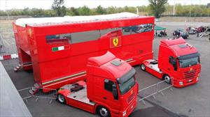Ahora te podés comprar la casa rodante del equipo Ferrari de F1
