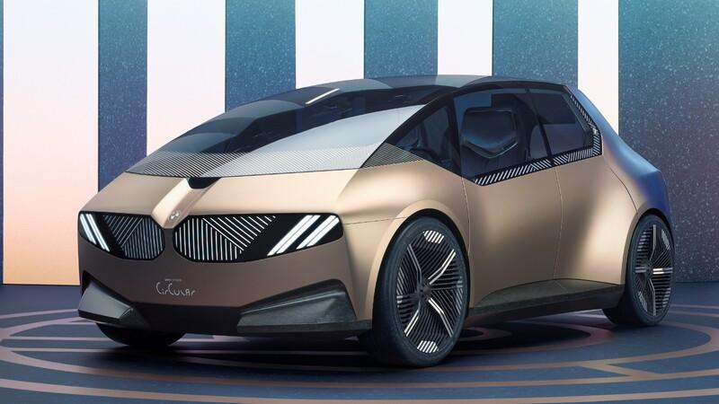 BMW i Vision Circular deja ver que los autos del futuro además de eléctricos, serán reciclables