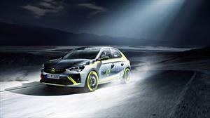 El Opel Corsa-e se transforma en el primer auto de rally eléctrico