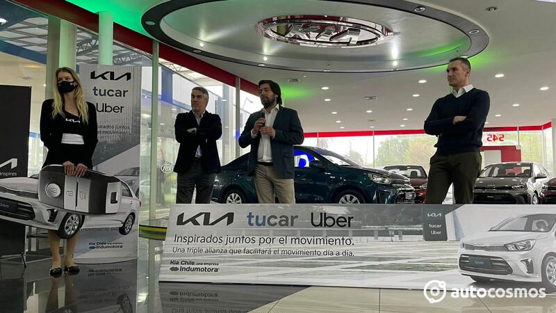 Kia, TuCar y Uber, alianza triple con beneficios en servicios de movilidad