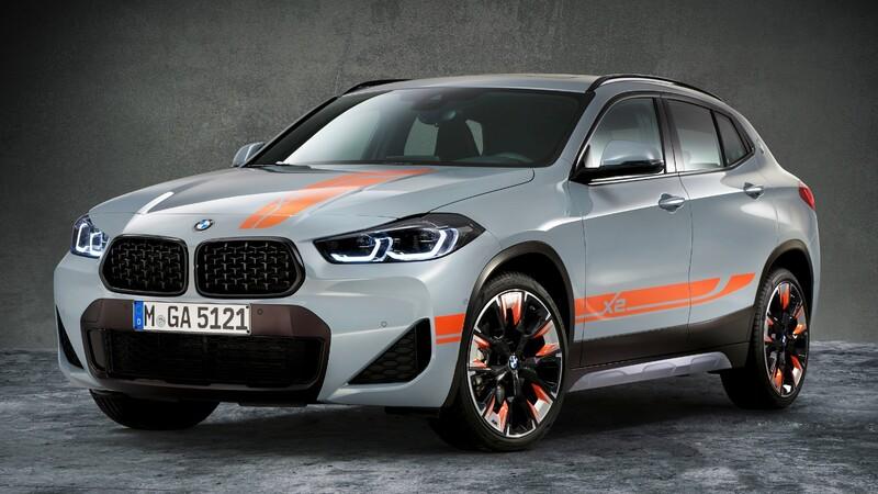 BMW X2 M Mesh Edition: visualmente, es mucho más deportivo