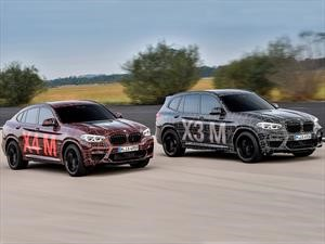 Escucha el motor seis cilindros del BMW X3 y X4 M