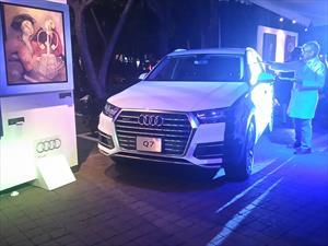 Audi Q7 2016 es intervenido durante el Auto Art Premium México