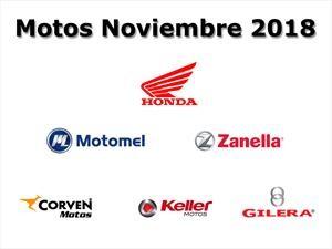 Top 10: Las marcas de motos que más vendieron en noviembre 2018