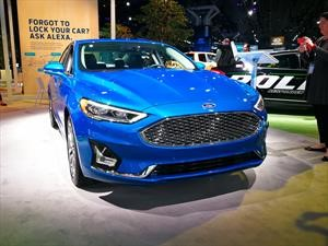 Ford Fusion 2019 estrena motor y ahora es más seguro