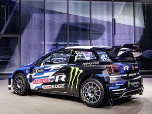 Volkswagen presenta el Polo R Supercar 2018 para competir en el World Rallycross