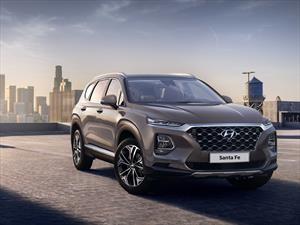 Estas son las primeras imágenes de la nueva Hyundai Santa Fe