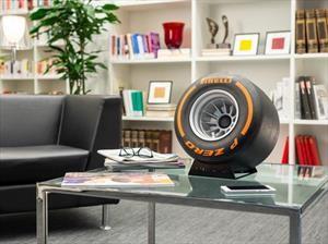 iXOOST y Pirelli Design lanzan una bocina con forma de llanta de F1