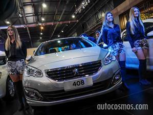 Peugeot 308 y 408 se renuevan en el Salón de BA