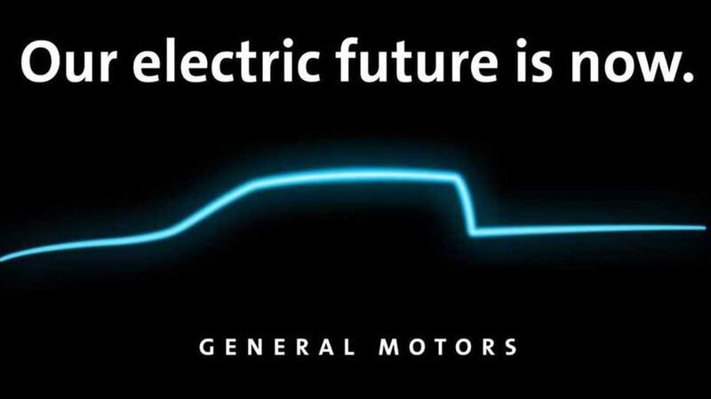 General Motors está de cabeza desarrollando la primera camioneta eléctrica de Chevrolet