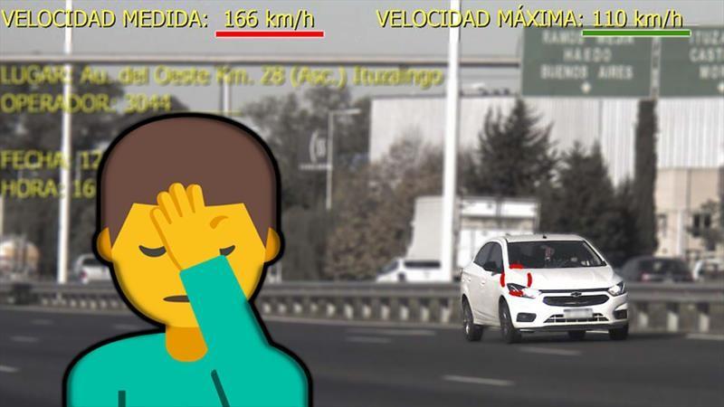Tranquilo, Toretto: Más de 200 multas diarias por exceso de velocidad en los accesos a CABA