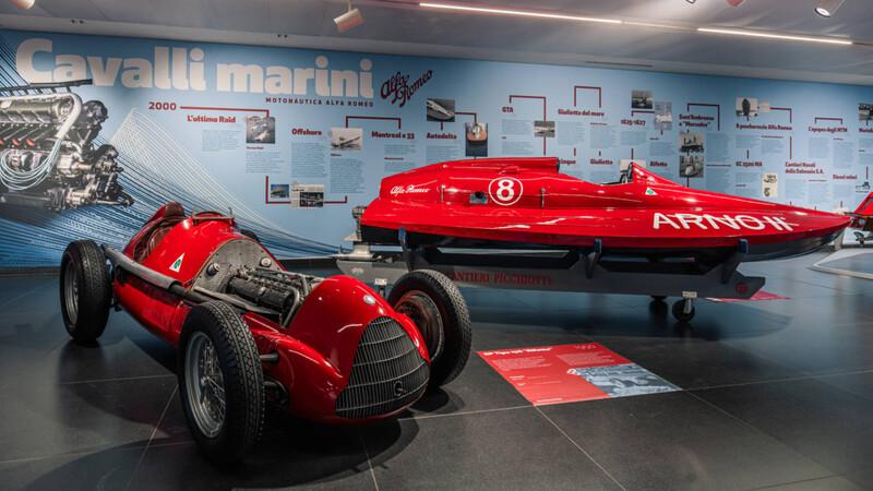 """""""Caballitos de mar"""": los Alfa Romeo que brillaron en las aguas"""