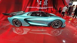 Hongqi S9 Concept y E115: china pisa en Frankfurt