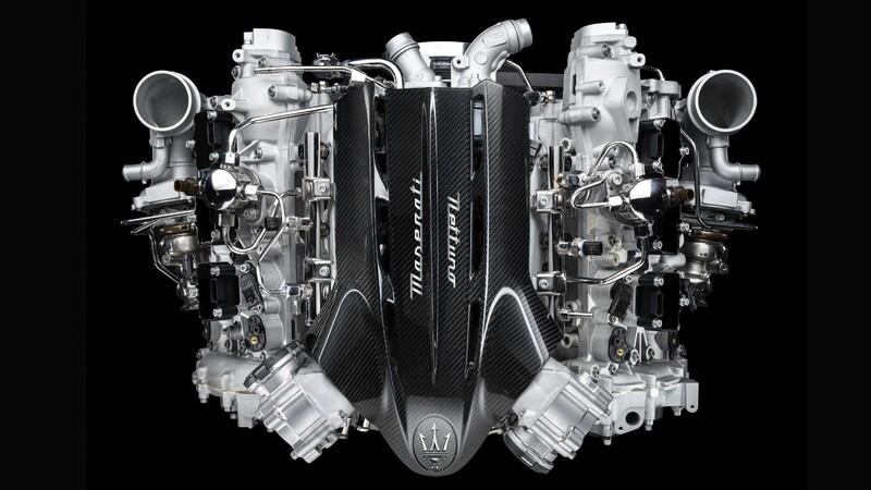 Maserati crea motor seis cilindros con más de 600 caballos de fuerza