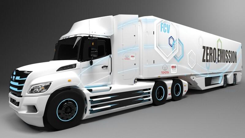Toyota desarrolla un tractocamión eléctrico de hidrógeno para América del Norte