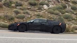 El nuevo Chevrolet Corvette Z06 C8 aulla en las montañas