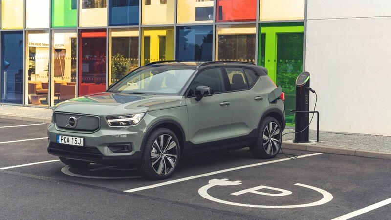 Volvo suma una nueva variante del eléctrico XC40 Recharge