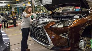 Toyota fabricará el Lexus NX y NX Hybrid en Canadá