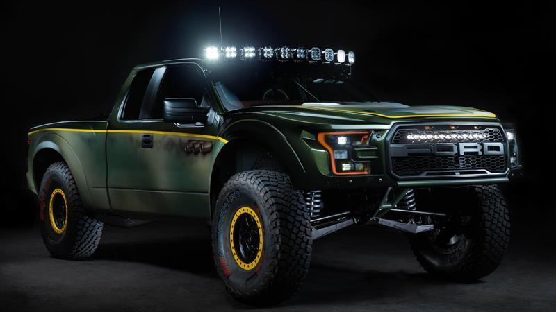 Esta Ford Raptor estrena un V8 de General Motors