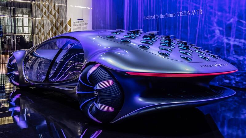 Descubre al Mercedes-Benz Vision AVTR, el carro que lee la mente