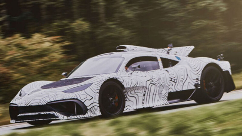 Mercedes-AMG ONE emerge en su fase final de pruebas