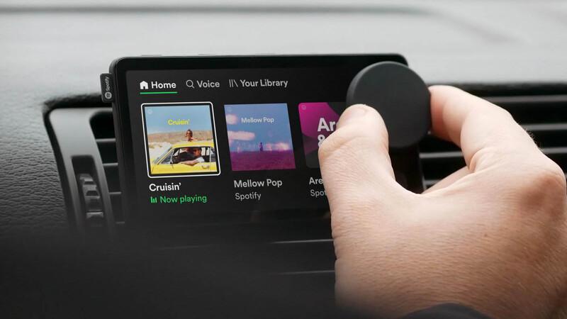 Car Thing de Spotify, listo para llevar al antiguo radio de tu auto a la era del streaming