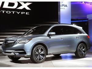 Acura MDX Prototype, listo para producción