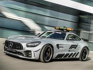 Mercedes-AMG GT R Safety Car F1, listo para la temporada 2018 de la Fórmula 1