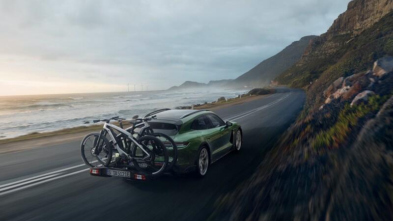 Porsche eBike Sport y Cross son las bicicletas eléctricas del Taycan
