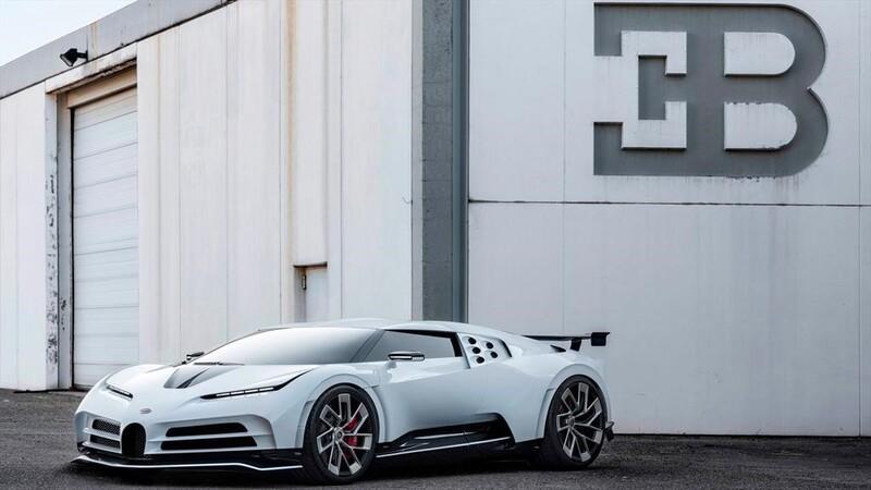 El Bugatti Centodieci de Cristiano Ronaldo