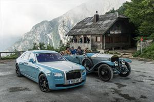 Rolls-Royce celebra el centenario de la competición Alpine Trials