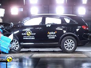 Nuevo Kia Sorento 2015: Máxima puntuación en EuroNCAP