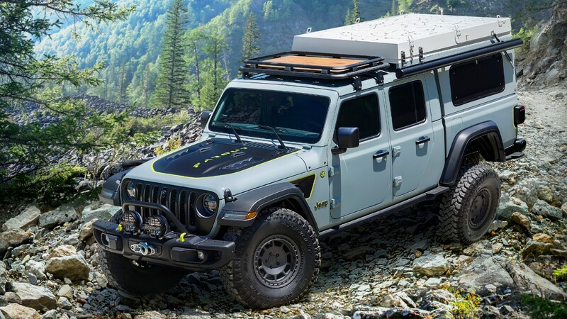 Jeep Gladiator Farout Concept es una auténtica casa rodante todoterreno