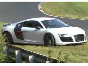 Video: El piloto de un Audi R8 descubre que Nurburgring no es para cualquiera