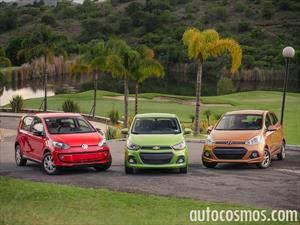 Comparativa: Chevrolet Spark vs Volkswagen up! vs Hyundai Grand i10