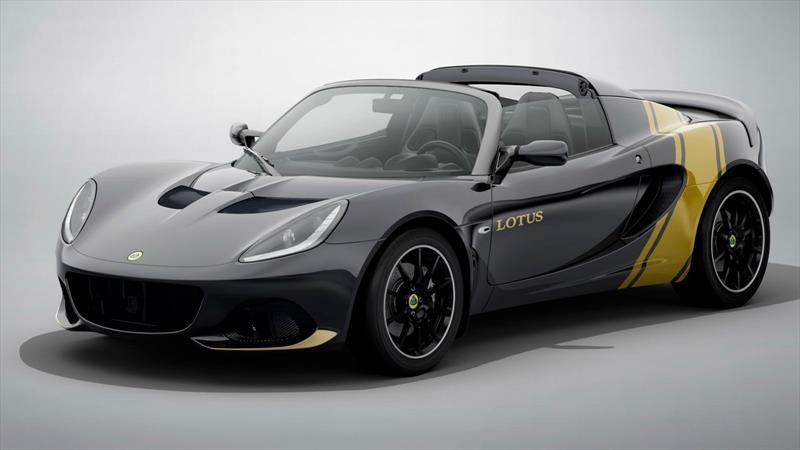 Lotus Elise Classic Heritage 2020, un homenaje a los clásicos F1 de la marca británica