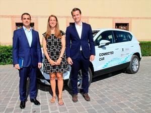 SEAT y Telefónica presentan iniciativa de conducción asistida en Segovia