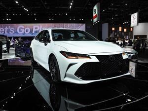 Toyota Avalon 2019 es un gran sedán de lujo japonés