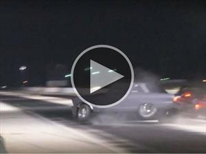 Video: Se accidentan en los arrancones