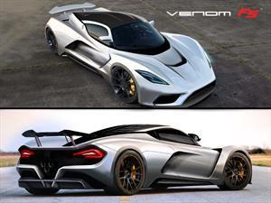 Hennessey Venom F5 con 1,400 caballos de potencia