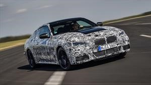 El nuevo BMW Serie 4 2021, se deja ver con una extensa capa de camuflaje