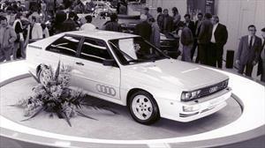Audi quattro, el carro que dejó huella por su sistema de tracción total